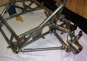 Titanium Front Subframe