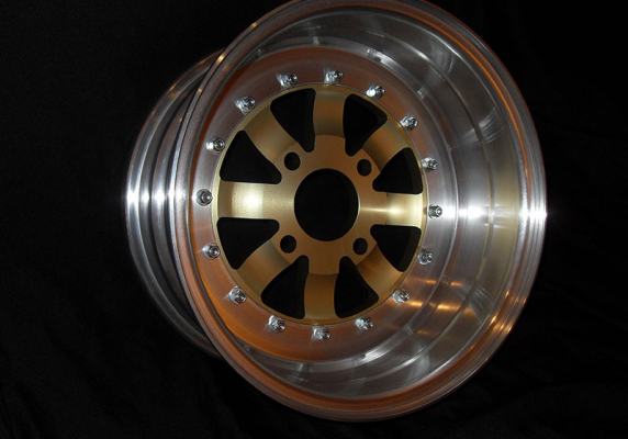 "12"" 3 Piece Modular Wheels Image 1"