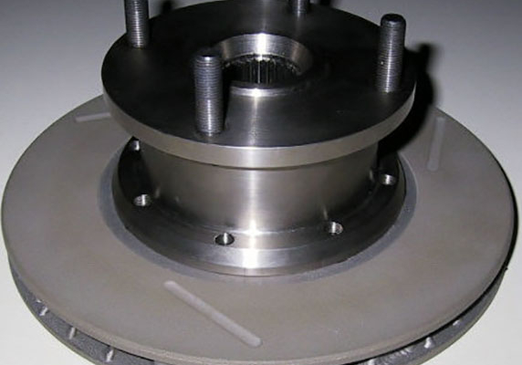 Titanium Drive Flanges, With Integral Brake Disc Bell Image 1