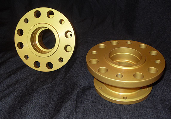 Billet Disc Brake Rear Hub Image 1
