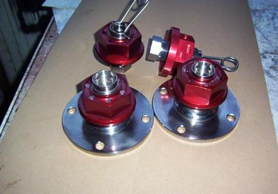 Titanium / Alloy Centrelock System Image 1