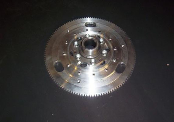 Alloy Flywheel Incorporating Ring Gear Image 1