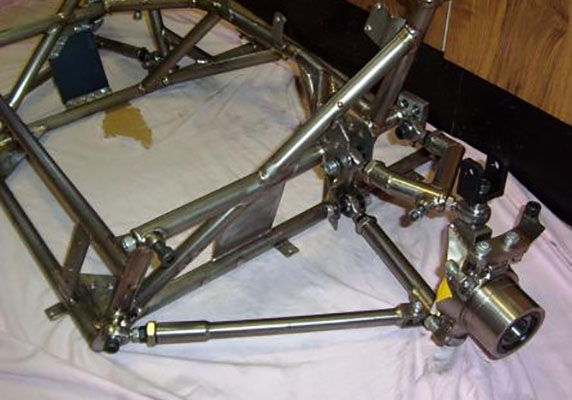 Titanium Front Subframe Image 1
