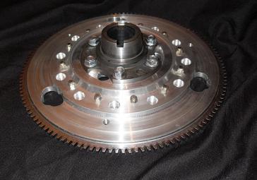 Alloy Flywheel With Steel Ring Gear