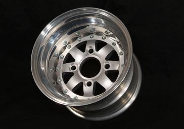 "10"" Three Piece Modular Wheels"